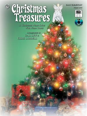 Christmas Treasures: 11 Christmas Piano Solos with Piano Duets (Primer), Book, CD & General MIDI Disk - Lew, Gail, and Lobdell, Chris