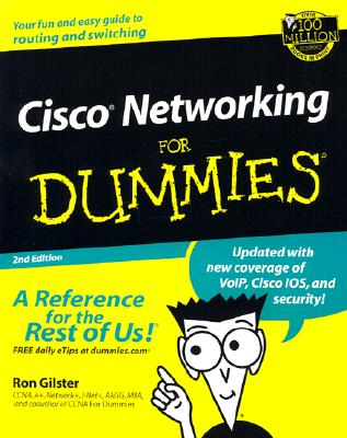 Cisco Networking for Dummies - Gilster, Ron