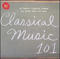 Classical Music 101 - Barry Douglas (piano); Carlo Bergonzi (tenor); Emanuel Ax (piano); Géza Anda (piano); Jörg Demus (piano);...