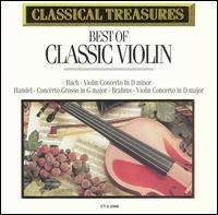 Classical Treasures: Best of Classic Violin - Various Artists