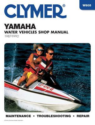Clymer Yamaha Water Vehicles Shop Manual 1987-1992 - Penton