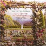Coleridge-Taylor: Piano Quintet; Clarinet Quintet