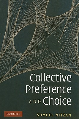 Collective Preference and Choice - Nitzan, Shmuel