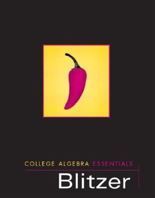 College algebra book by robert blitzer 14 available editions college algebra essentials fandeluxe Gallery