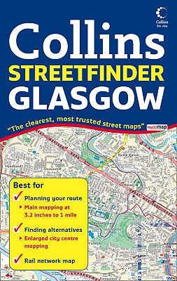Collins Streetfinder Glasgow (Map) - Collins