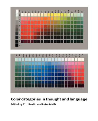 Color Categories in Thought and Language - Hardin, C L (Editor)