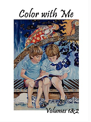 Color with Me, Volumes 1 and 2 - Allgood, Elizabeth W