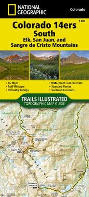 Colorado 14ers South [san Juan, Elk, and Sangre de Cristo Mountains] - National Geographic Maps - Trails Illustrated
