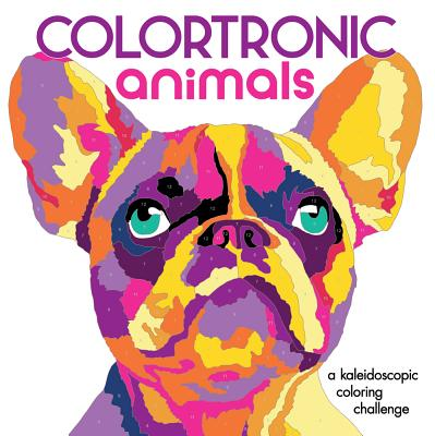 Colortronic Animals: A Kaleidoscopic Coloring Challenge - Lark Crafts