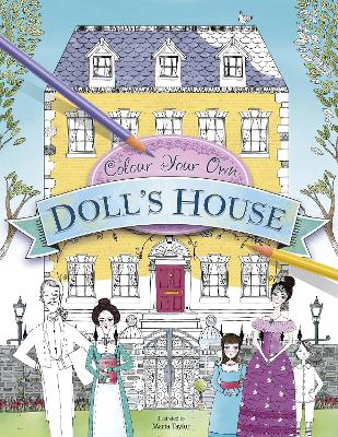 Colour Your Own Doll's House - Besley, Adrian
