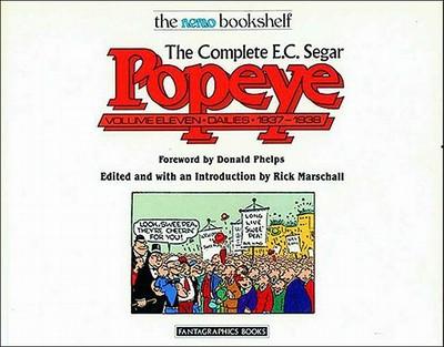 Complete E.c. Segar Popeye - Segar, E.C., and Marshall, Richard (Editor)