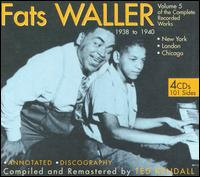 Complete Recorded Works, Vol. 5 - Fats Waller