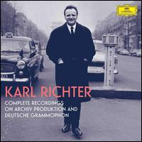 Complete Recordings on Archiv Produktion and Deutsche Grammophon -