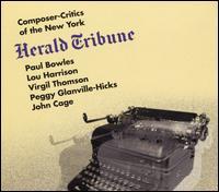 Composer-Critics of the New York Herald Tribune - Carlo Bussotti (piano); Clyde Turner (tenor); David Glazer (clarinet); Elden C. Bailey (percussion);...