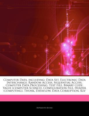 Computer Data, Including: Data Set, Electronic Data