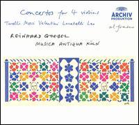 Concertos for 4 Violins - Andrea Keller (violin); Anton Steck (violin); Katharina Wolff (violin); Laura Johnson (violin); Manfredo Kraemer (violin);...