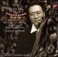 Concertos from the New World - Yo-Yo Ma (cello); New York Philharmonic; Kurt Masur (conductor)