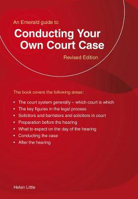 Conducting Your Own Court Case: Emerald Home Lawyer Series - Franks, Robert