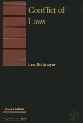 Conflict of Laws - Brilmayer, Lea