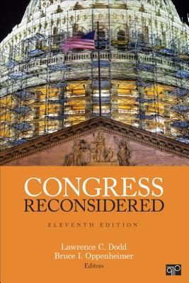 Congress Reconsidered - Dodd, Lawrence C (Editor)