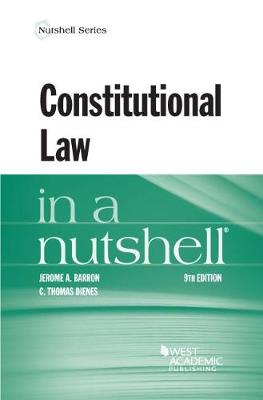 Constitutional Law in a Nutshell - Barron, Jerome