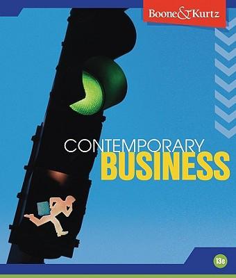 Contemporary Business - Boone, and Kurtz