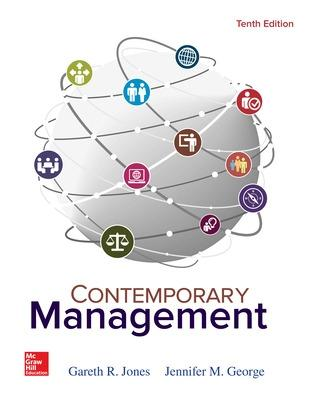 Contemporary management book by gareth r jones 21 available contemporary management jones gareth r and george jennifer m fandeluxe Choice Image