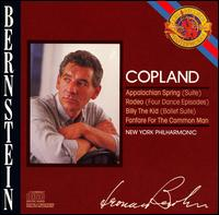 Copland: Appalachian Spring; Rodeo; Billy the Kid; Fanfare for the Common Man - New York Philharmonic; Leonard Bernstein (conductor)