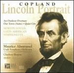 Copland: Lincoln Portrait; An Outdoor Overture; Our Town; Quiet City; Morton Gould: Latin American Symphonette