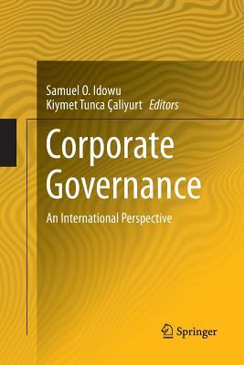 Corporate Governance: An International Perspective - Idowu, Samuel O (Editor)