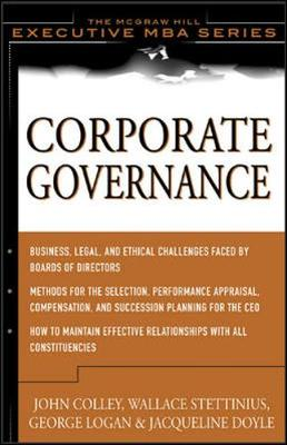 Corporate Governance - Snyder, Rachel L, and Colley, John L, and Stettinius, Wallace