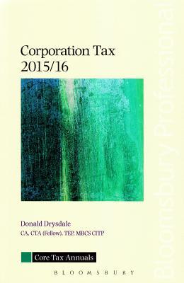 Corporation Tax 2015/16 - Drysdale, Donald