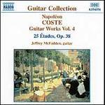 Coste; Guitar Works, Vol.4