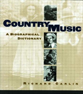 Country Music - Carlin, Richard