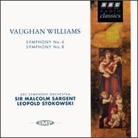 Vaughan Williams: Symphony No. 4; Symphony No. 8 - BBC Symphony Orchestra
