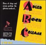 ABC: A Tribute to Richard Adler, Jerry Bock and Cy Coleman