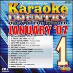 Karaoke: January 2007 Country Hits