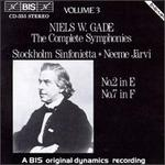 Niels W.Gade: The Complete Symphonies, Vol. 3