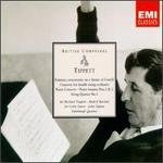 Michael Tippett: Fantasia concertante on a theme of Corelli; Concerto for double string orchestra; etc.