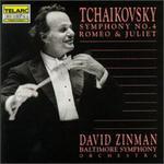 Tchaikovsky: Symphony No.4; Romeo and Juliet