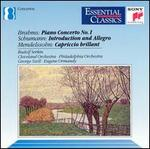 Brahms: Piano Concerto 1; Schumann: Introduction & Allegro