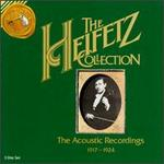 The Heifetz Collection-the Acoustic Recordings 1917-1924