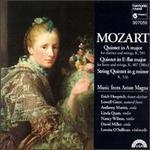 Mozart: Clarinet Quintet, K.581 / Horn Quintet, K407 (386c) / String Quintet, K.516-Music From Aston Magna