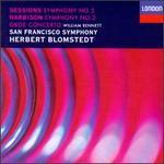 Harbison: Oboe Concerto, Symphony No2; Sessions: Symphony No2