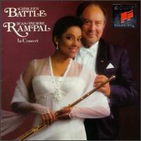 Kathleen Battle and Jean-Pierre Rampal in Concert - Anthony Newman (harpsichord); Jean-Pierre Rampal (flute); John Steele Ritter (piano); Kathleen Battle (soprano);...