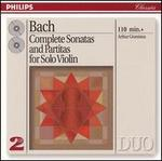 Bach: Complete Soantas and Partitas for Solo Violin - Arthur Grumiaux (violin)