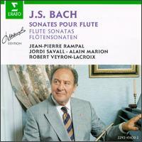 Bach: Flute Sonatas - Alain Marion (flute); Jean-Pierre Rampal (flute); Jordi Savall (viola da gamba); Robert Veyron-Lacroix (harpsichord)