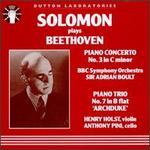 Beethoven: Piano Concerto No.3/Piano Trio No.7
