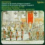 Beethoven: Cantatas; Opferlied; Meeresstille