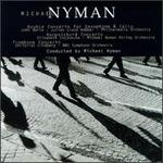 Michael Nyman: Double Concerto for Saxophone & Cello; Harpsichord Concerto; Trombone Concerto